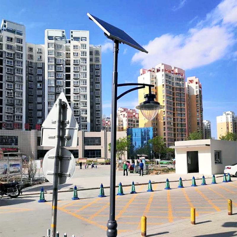 居民小区4米庭院景观灯安装